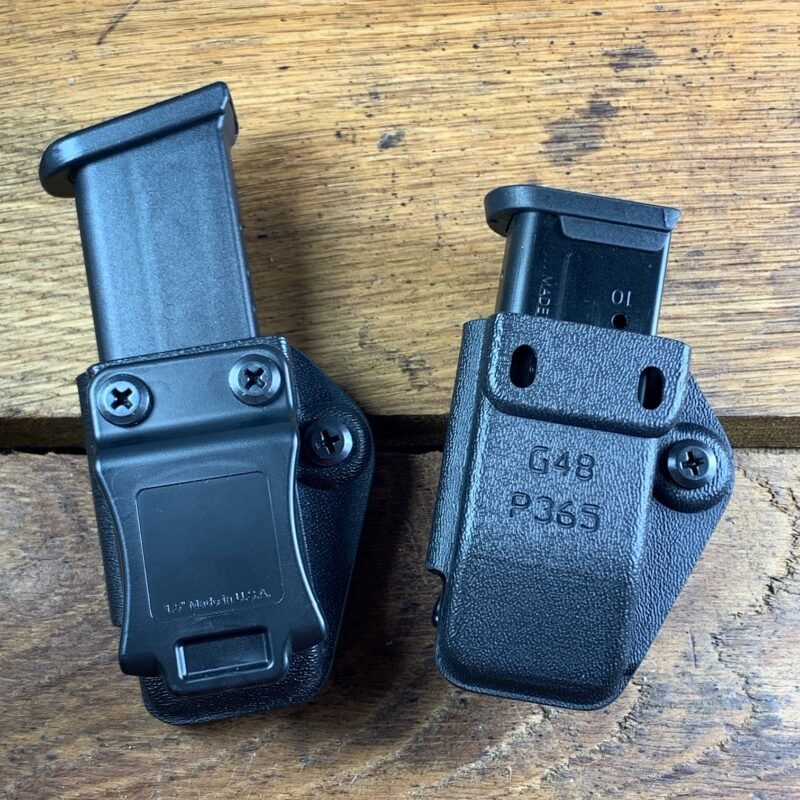Buy Foldover Single Mag Carrier | Can be worn IWB or OWB | Simple & discreet | Glock mag holster | Sig P356 mag holster | Mag holder